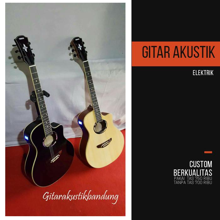 harga Gitar akustik murah elektrim ready gosend yu bandung ni Tokopedia.com