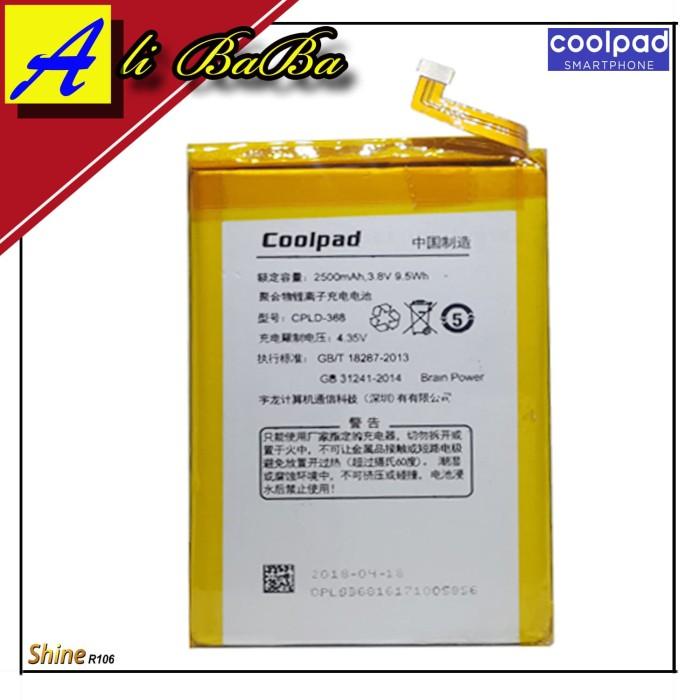 harga Baterai handphone coolpad shine r106 cpld-368 5.5 inch batre hp r106 Tokopedia.com