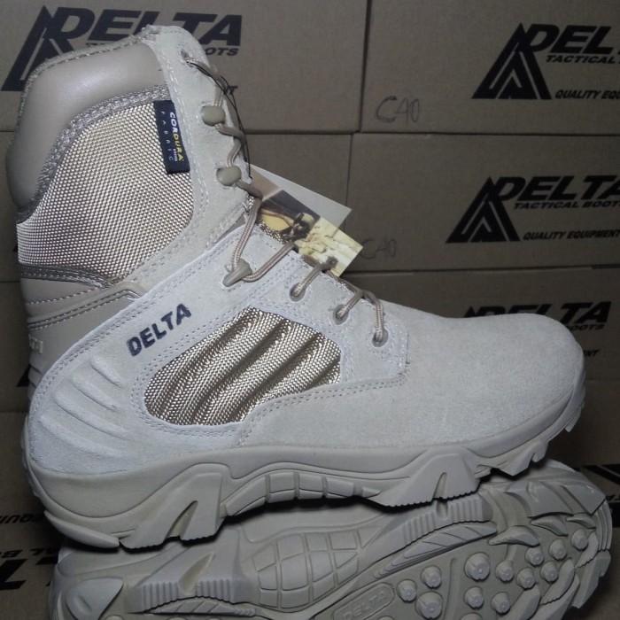 Review Sepatu Delta 8 Inch Hitam Tour Shoes Hiking Gunung Tactical ... 1cd1bcd464