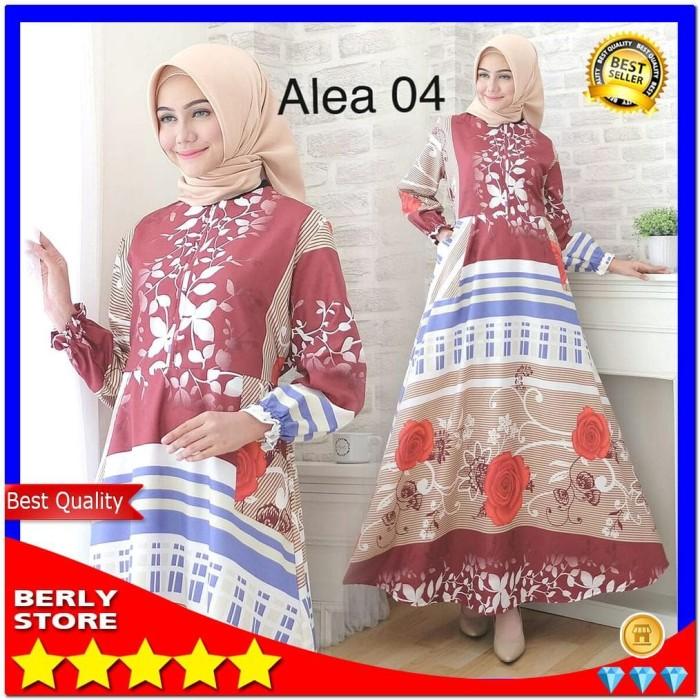 harga Jubah muslimah baju gamis wanita motif bunga tangan karet bahan katun  Tokopedia.com e99d3afffe