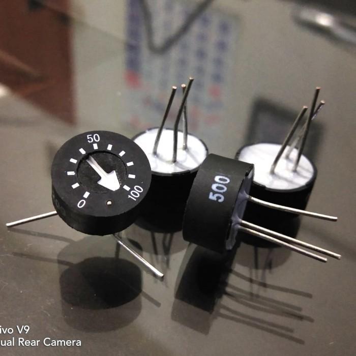 Foto Produk trimmer pot hexohm v3 500ohm 93pr500lf / 93pr501 dari versus box mod supply
