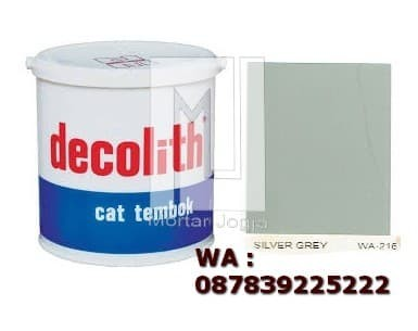 Jual Cat Tembok Decolith Silver Grey Kab Bantul Mortarjogja
