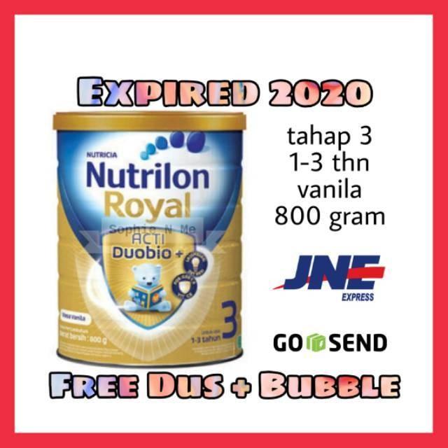 Nutrilon Royal 3 Vanila 800 gram- SVEL49