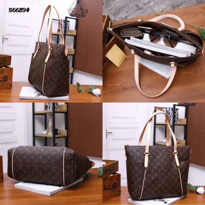 07764de1af4e Jual High Premium LV Louis Vuitton Totally Bag 56689 Mono - Kota ...