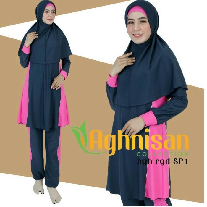 Baju renang muslimah AGHNISAN tipe AGH RGD SP Uk. XXL