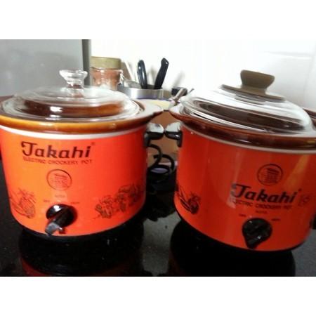 Takahi Slow Cooker 12 Liter Pembuat Bubur Sup Bayi Alat Masak