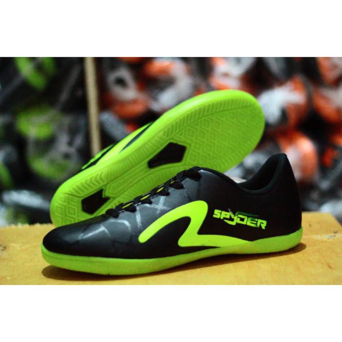 Jual Sepatu Futsal Specs Spyder Hitam Hijau Kota Bandung