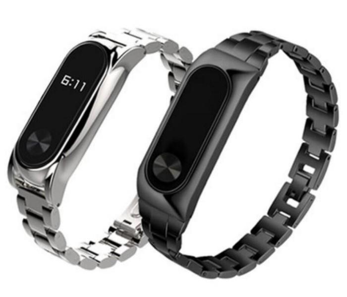 Foto Produk Xiaomi Mi Band 2 Metal Strap Stainless Steel Wristband for MiBand 2 dari almira skincare