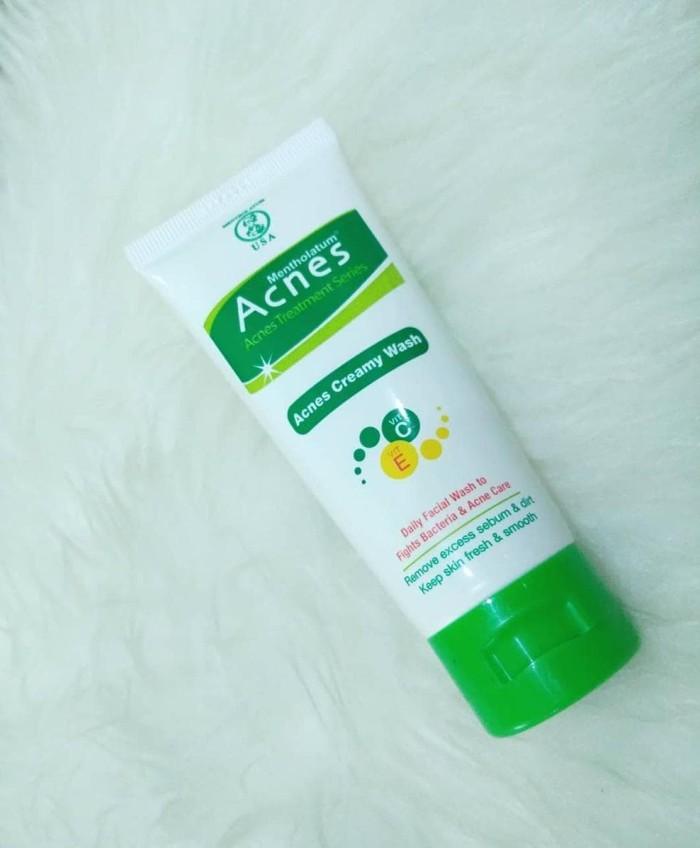 Jual Jual Acnes Creamy Wash Sabun Cuci Muka Untuk Kulit Berjerawat
