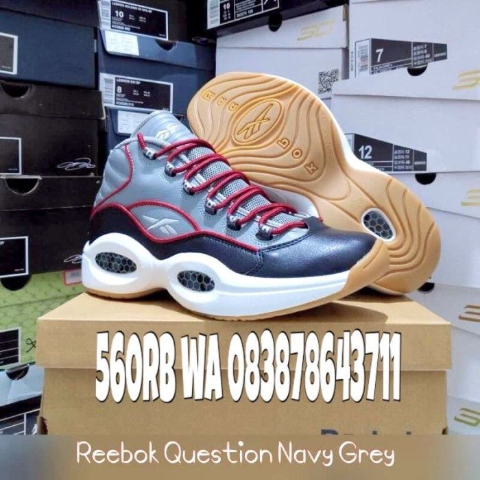 d880bf7e4ce7b Jual SALE PROMO SEPATU Iverson Reebok - Biru