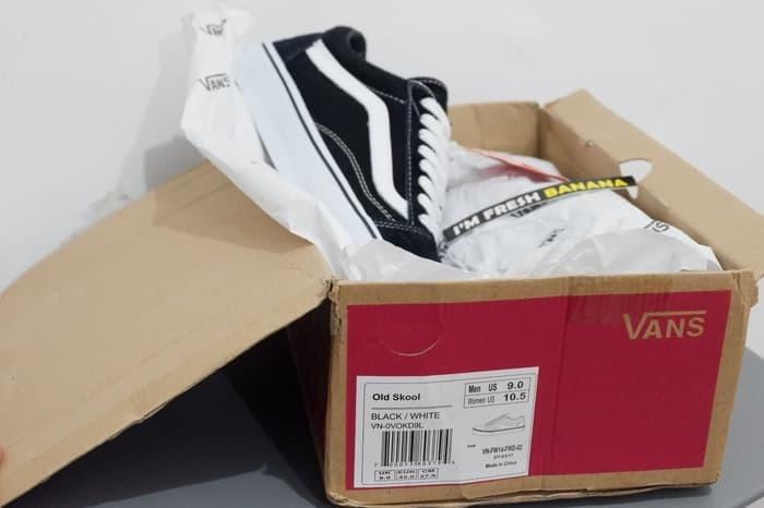 Jual Sepatu Vans Old Skool Classic Black White DT Premium oldskool ... a1f2c48b7a