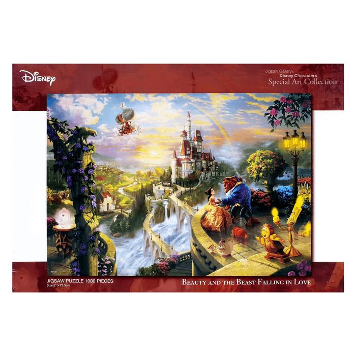 harga Tenyo d-1000-487 falling in love (kinkade) 1000 pieces jigsaw puzzle Tokopedia.com