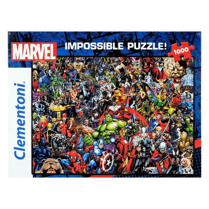 harga Clementoni 39411 impossible marvel 1000pcs jigsaw puzzle Tokopedia.com