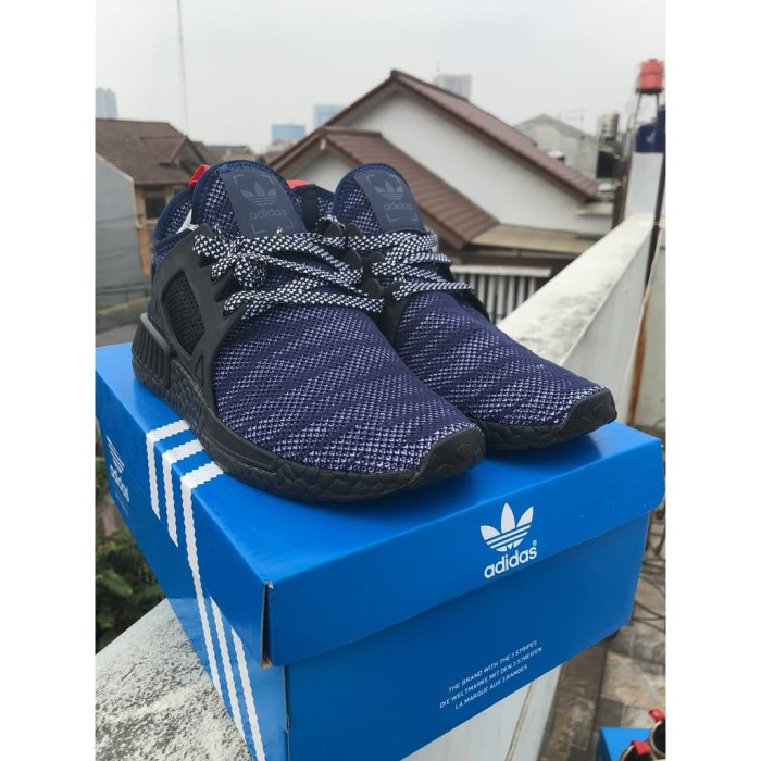 Jual ADIDAS NMD XR1 Navy Black High Premium Original Sepatu Shoes ... b1e2df4ae9