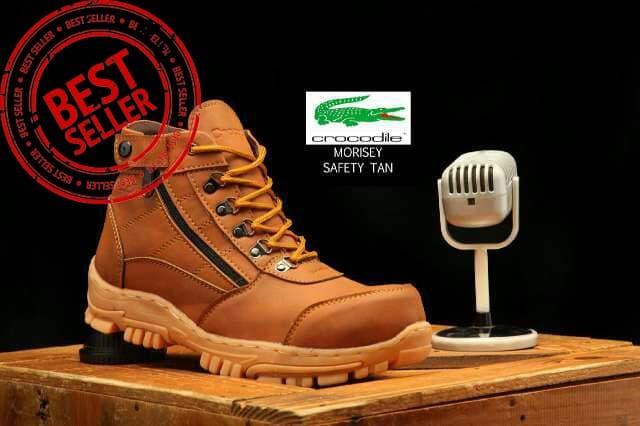 Harga Terbaru Sepatu Boots Pria Crocodile Morisey Delta Tracking ... a38b6ce74a