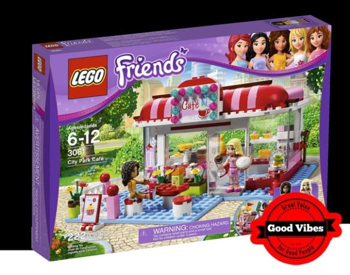 Jual Lego 3061 City Park Cafe Kingbricks Gv Online Tokopedia