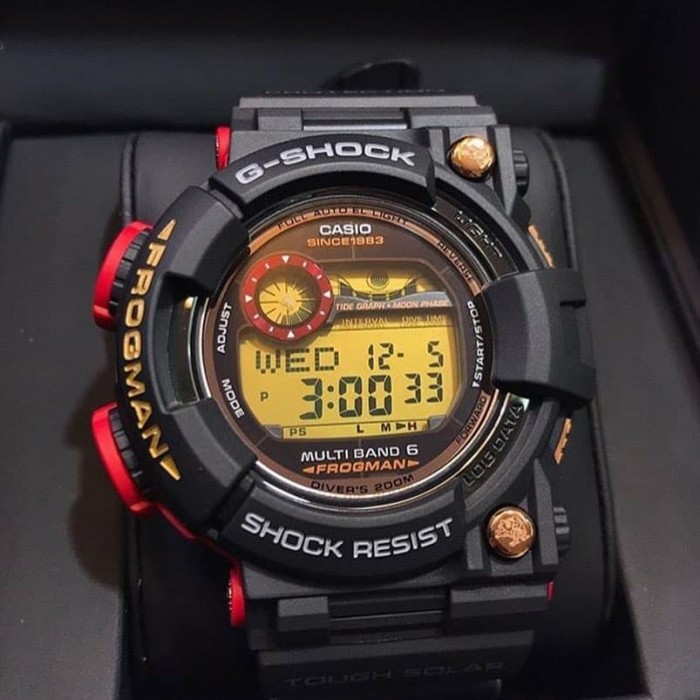 Jam Tangan Casio Gshock Frogman GWF-1035F-1DR limited 35Th Anniversary 13c4ee5130