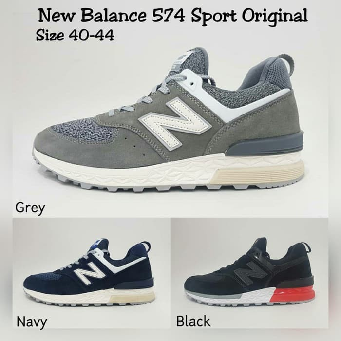 ... harga Sepatu sneakers sepatu new balance 574 sport original  Tokopedia.com ed22fb61de