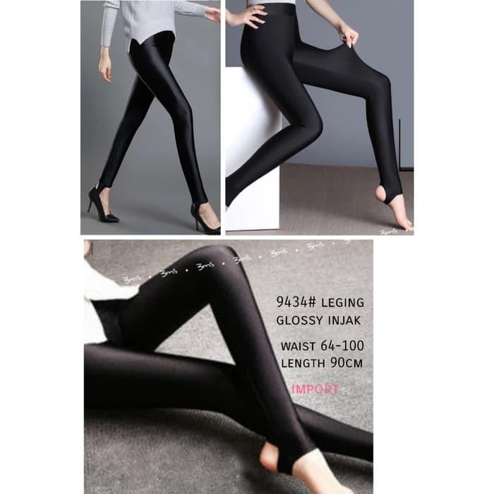 Jual Grosir Legging Glossy Injak Import Bahan Kilap 9434 Kota Semarang Violet Citraya Tokopedia