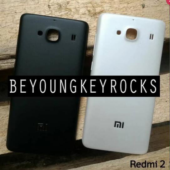 Foto Produk Backdoor / Tutup Belakang Xiaomi Redmi 2 / 2s Original dari Beyoungkeyrocks_Shop