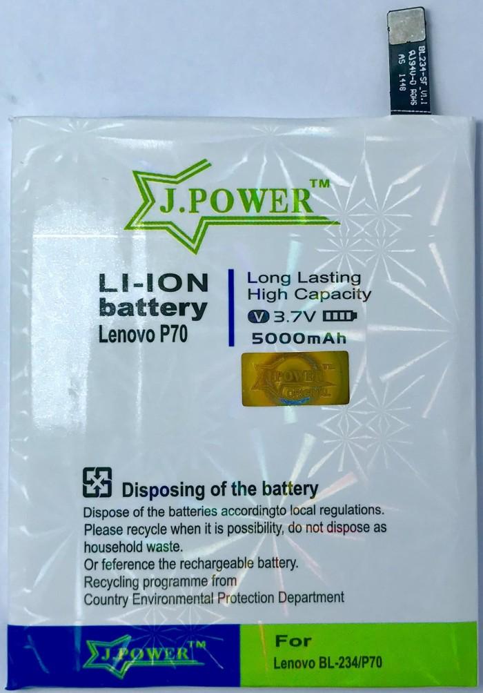 J.POWER BATERAI DOUBLE POWER LENOVO P70 - 5000MAH