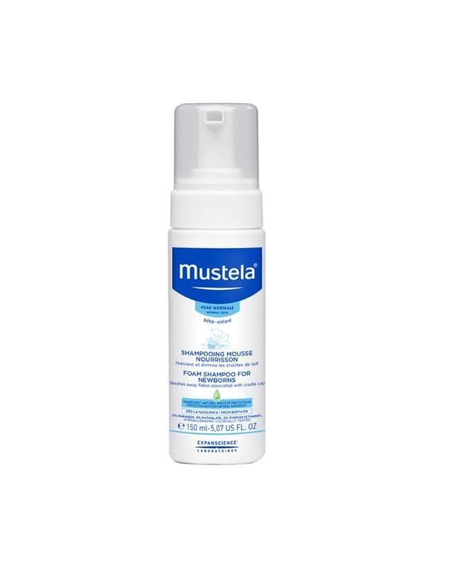 harga Mustela foam shampoo newborn 150ml - shampo bayi new born 150 ml Tokopedia.com