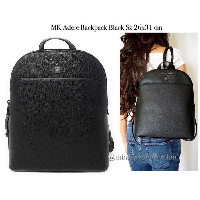 a479051a197b Jual MK Adele Backpack Black - Kab. Sidoarjo - Fossil_lovers   Tokopedia
