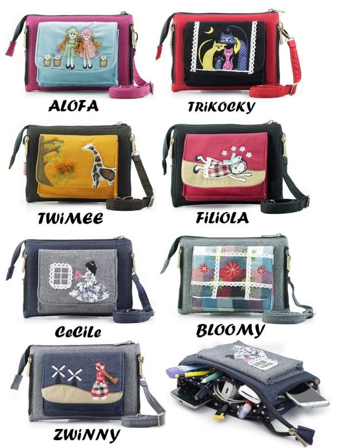 Tas Selempang Kabizaku Twee Bag - Sling Bag Branded Wanita Murah - Twimee 5e7e43f940