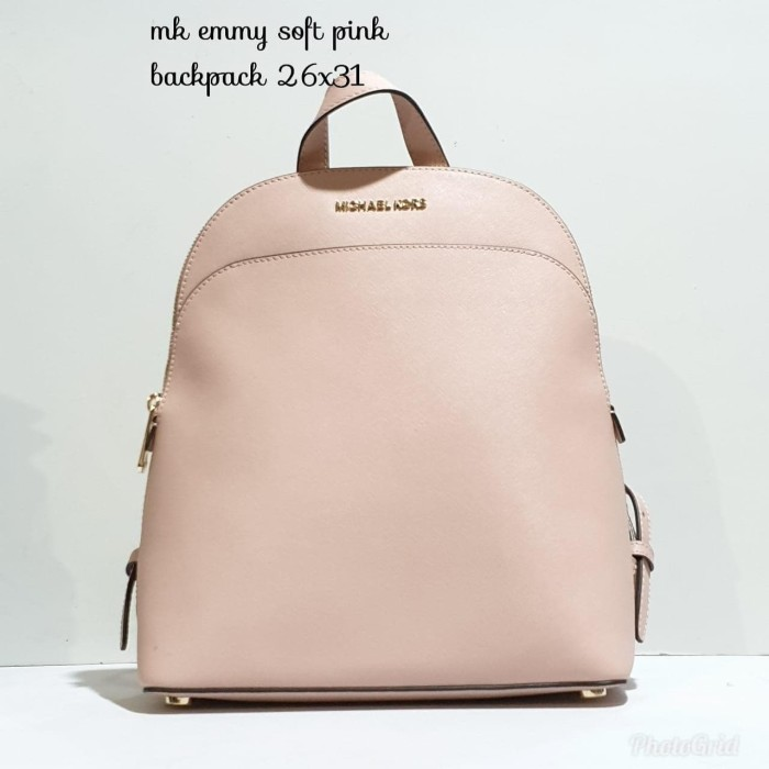 458d6009a35ae8 Jual TAS MICHAEL KORS ORIGINAL - MK EMMY BACKPACK SOFT PINK ci ...