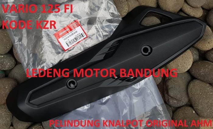 Foto Produk KZR Pelindung Knalpot Vario 125 Fi Cover Tutup AHM Original Honda dari Ledeng Motor Bandung