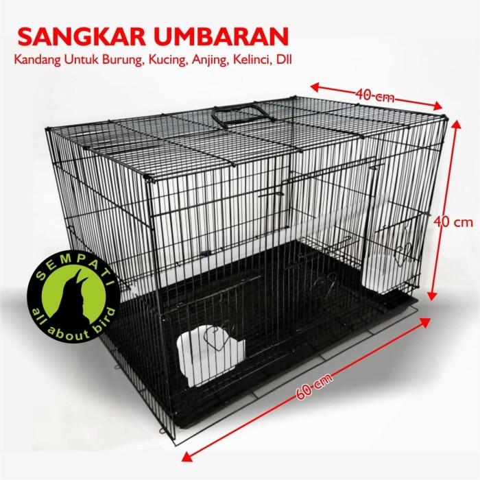 harga Sangkar kandang besi umbaran tebal lipat kotak untuk ternak Tokopedia.com