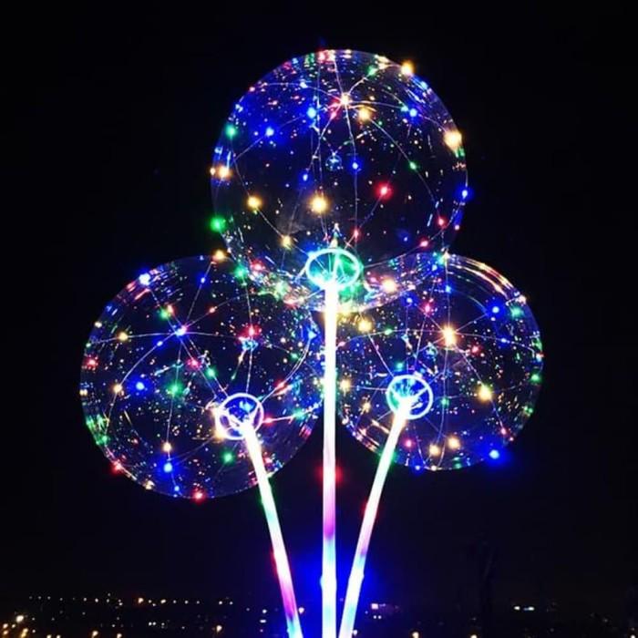 Balon LED / BOBO Balon / Lampu Tumbler / BALON LAMPU / LED BALON