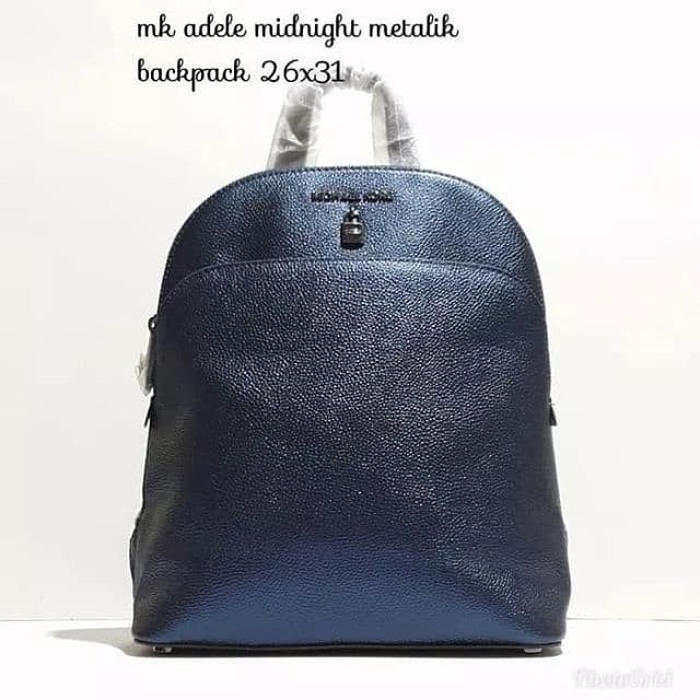 da50d815a02b Jual Tas Michael Kors original - Mk adele backpack midnight metallic ...
