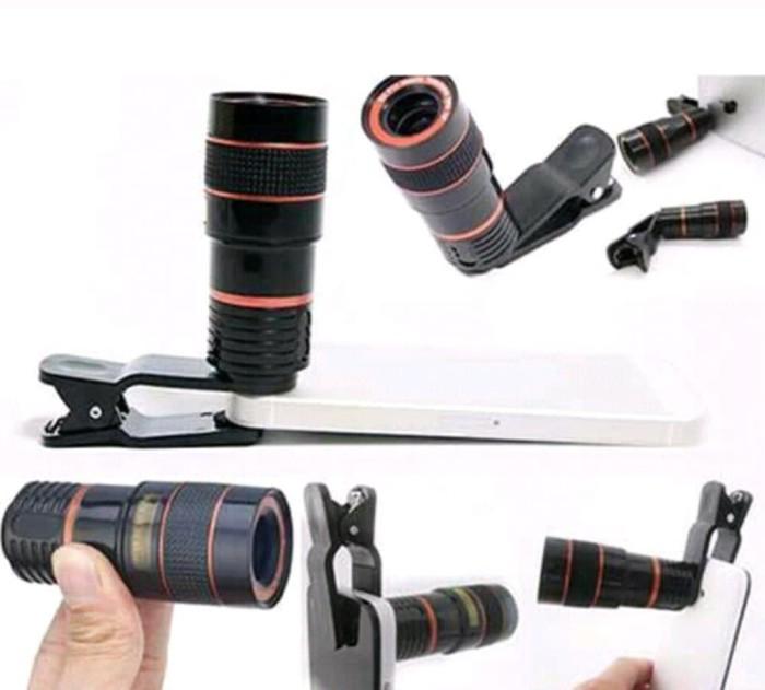 harga Lensa kamera teropong hp mobile phone telescope lens 12x Tokopedia.com