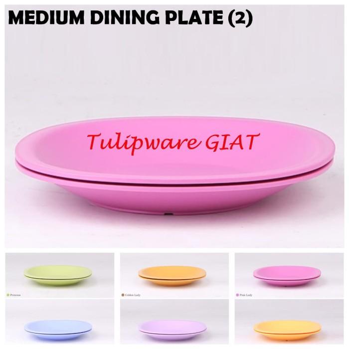 Foto Produk Piring Makan / Medium Plate Tulipware (2) dari TULIPWARE collection