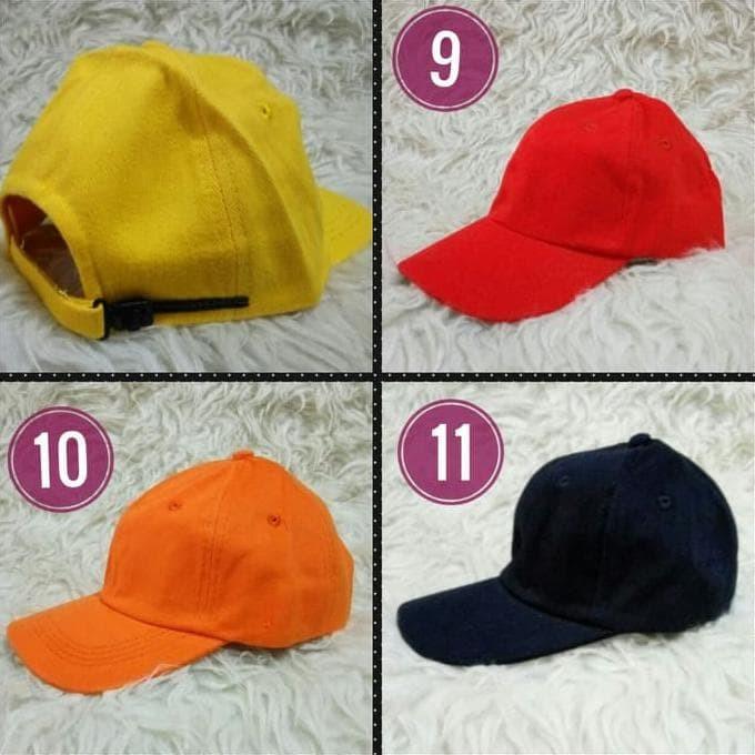 Jual Topi Bayi Anak Baseball Hat Polos Basebal Polos Warna Warni Bagus 2102111835