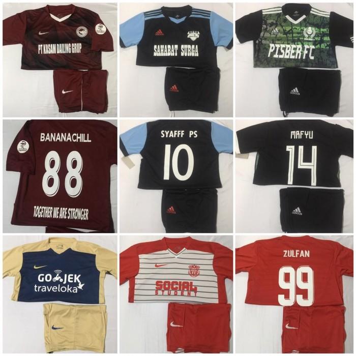 Jual Sablon Lengkap Nama No + Sponsor + Logo tim ke Setelan Futsal - Kota  Pekanbaru - RSPORT23 | Tokopedia