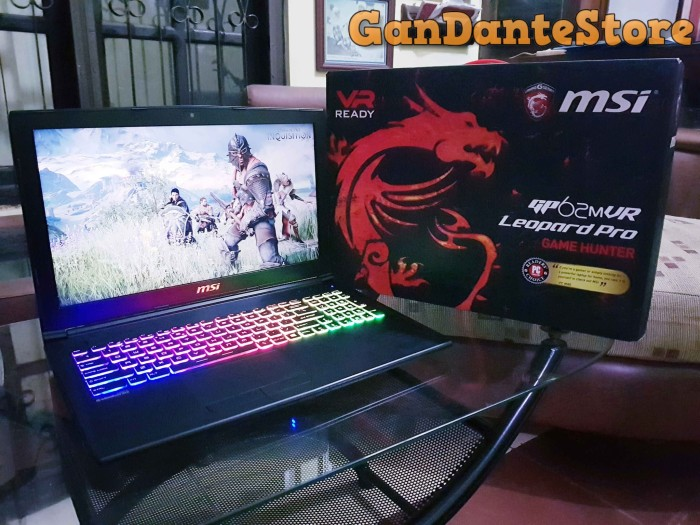 harga Msi gaming laptop gp62mvr leopard pro w/ gddr5x 1060 Tokopedia.com