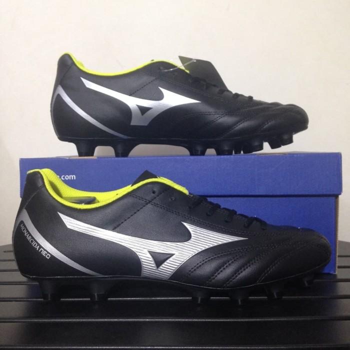 79ec849e10c331 Baru Sepatu Bola Mizuno Monarcida Neo Select Black Silver P1GA192504.