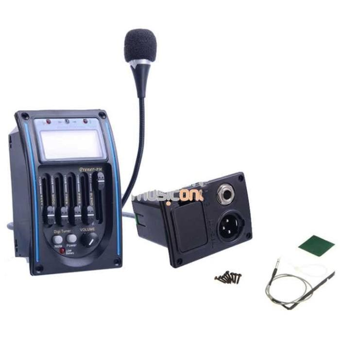 harga Preamp amplifier gitar eq tuner dengan microphone sepket Tokopedia.com