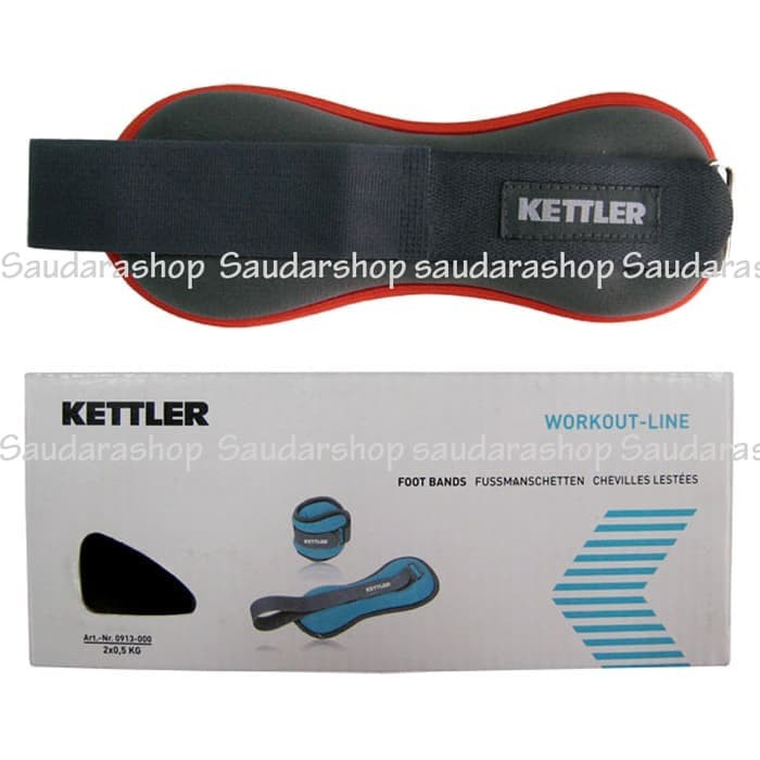 Kettler Foot Band Orange (2kg/pair) / Pemberat Kaki Kettler 2kg orange