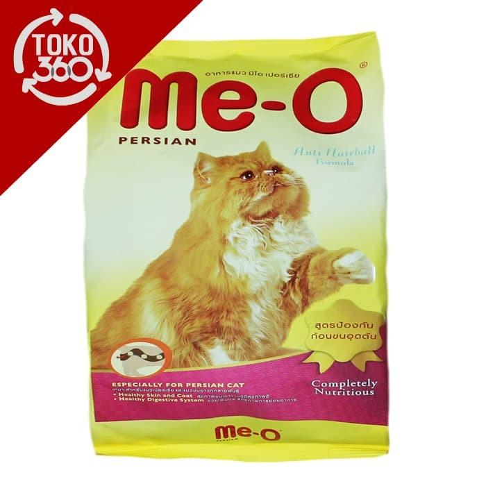 Jual Me O Meo Makanan Kucing Persia Bungkus 400 Gram Dry Cat Food