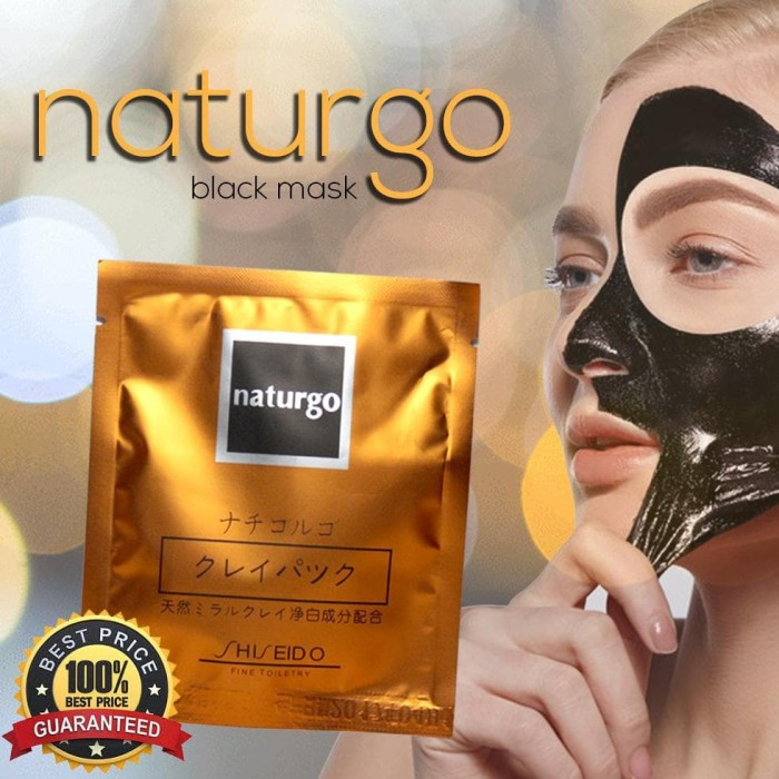 sale Masker Lumpur Naturgo - No Box - 30 pcs
