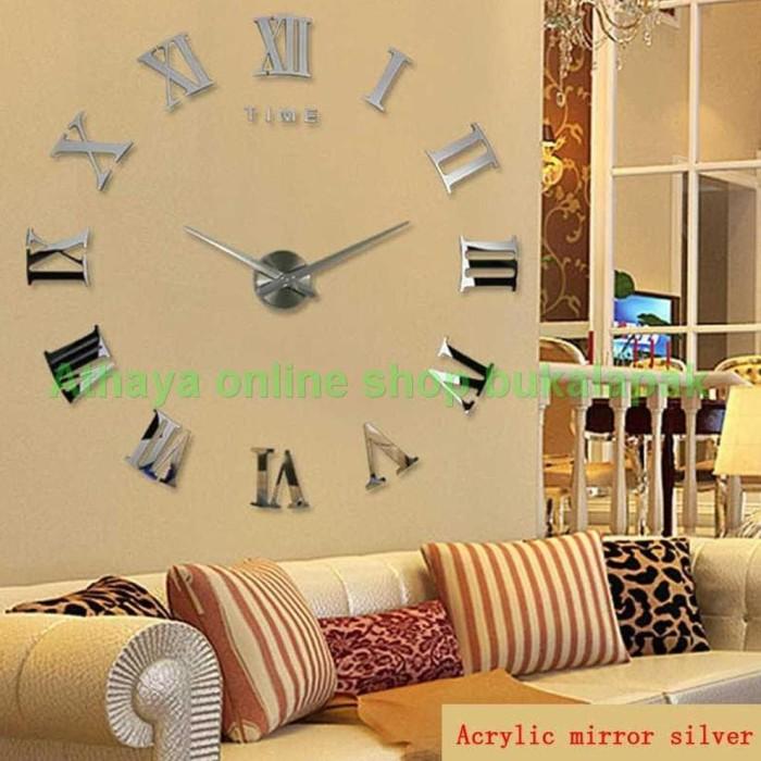Jual murah Jam Dinding Unik 3d Dan Besar Cocok Untuk Ruang Tamu ... d5998801f1