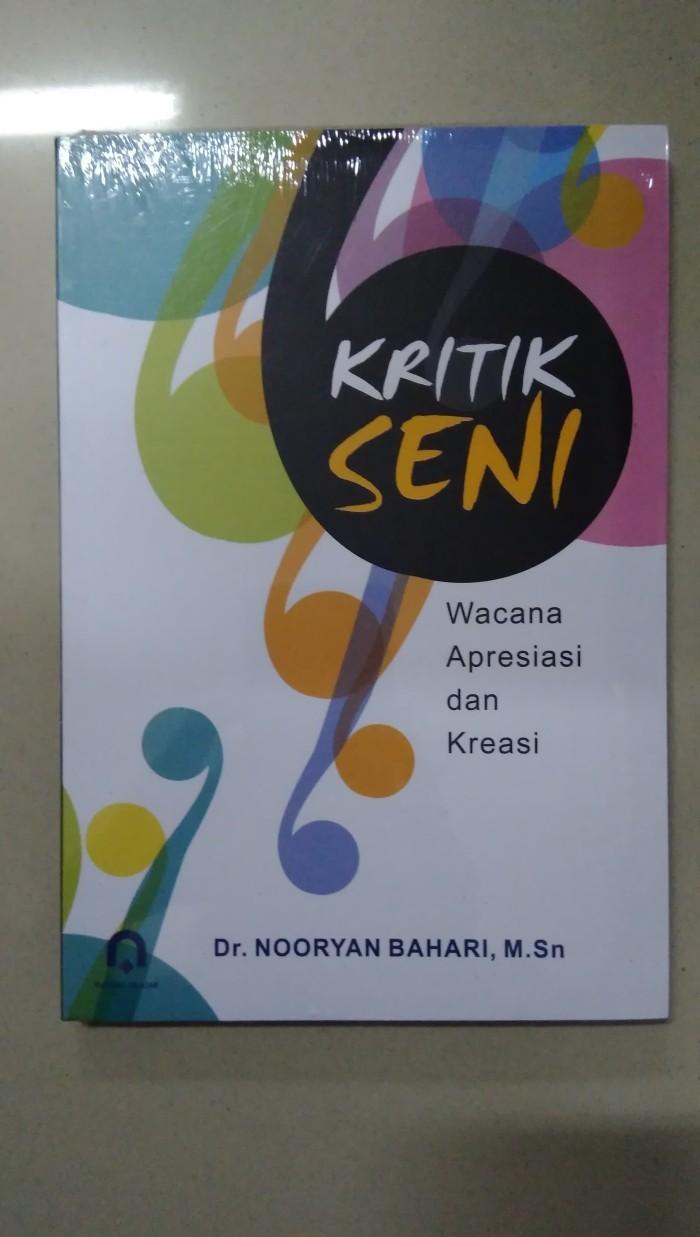 Jual Buku Kritik Seni Nooryan Bahari Pustaka Pelajar Kab Bantul