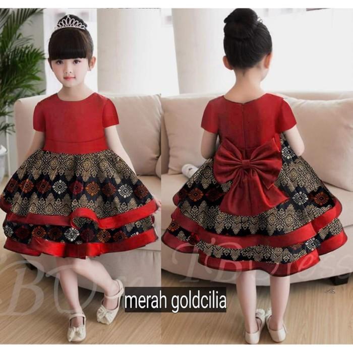 Jual Dress Pesta Anak Dress Batik Anak Baju Batik Anak Perempuan 3 4 ... 4d70d6dcf0