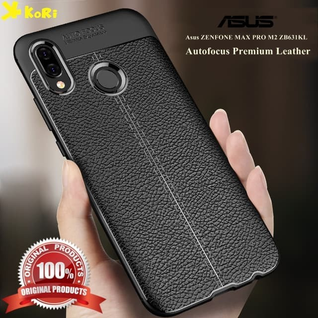 Jual Case Asus Zenfone Max Pro M2 Zb631kl Autofocus Kori Leather