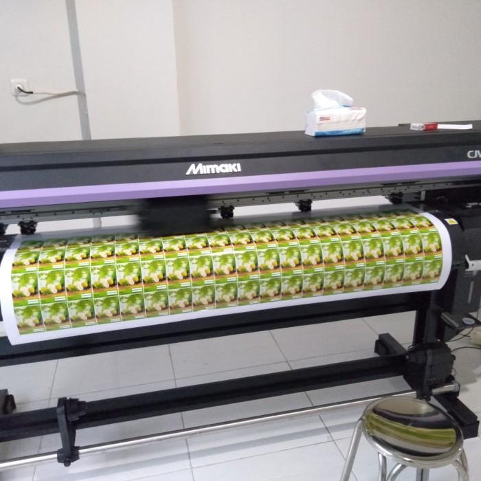 photograph about 3m Printable Vinyl known as Jual cetak stiker vinyl 3M ( indoor print basically ) - DKI Jakarta - DS Printing Tokopedia