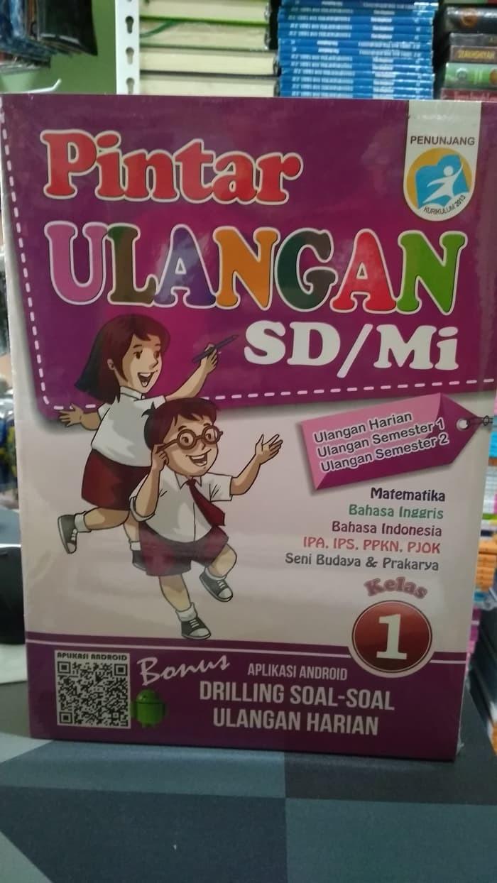 Jual Buku SD Kelas 1 BEST SELLER PINTAR ULANGAN SD MI KELAS 1 K13N Jakarta Barat PRESTASI EDK