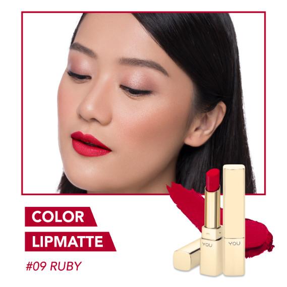 Foto Produk Y.O.U Color Lip Matte Finished Lipstick - RUBY dari tokolingli